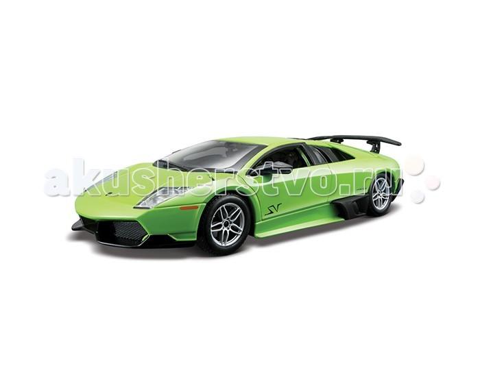Bburago Машина для сборки Lamborghini Murcielago LP670-4 SVМашина для сборки Lamborghini Murcielago LP670-4 SVМашина для сборки Bburago Lamborghini Murcielago LP670-4 SV – это копия настоящего автомобиля с полной детализацией всех частей, 1:24  Игрушка выполнена из высококачественного металла и пластика. Детали и края аккуратно обработаны.   Коллекционные машинки Бураго развивают у ребенка развивают координацию движений и меткость, пространственное и образное мышление, воображение, мелкую моторику. С мини-модельками автомобилей Bburago игра станет настолько увлекательной, что оторваться будет невозможно!   Компания Bburago – мировой лидер в производстве коллекционных моделей автомобилей. Более 30 лет профессиональные дизайнеры Bburago разрабатывают точные копии современных машин и ретро машин известных марок. С автомобилями Bburago можно не только играть, но и сделать их частью своей коллекции!<br>