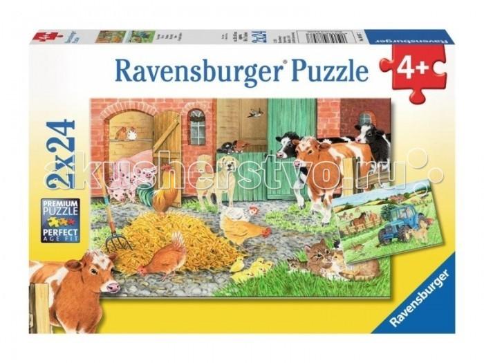 Ravensburger Пазл На ферме 2х24 элементов