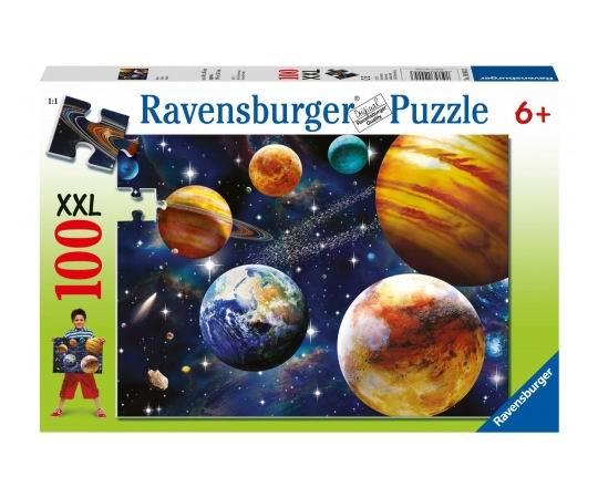 Пазлы Ravensburger Пазл Парад планет 100 элементов