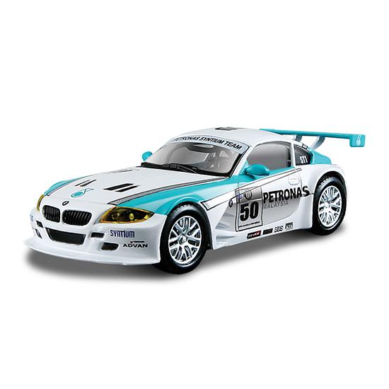 Bburago Машина Ралли BMW Z4 M CoupeМашина Ралли BMW Z4 M CoupeМашина Ралли Bburago BMW Z4 M Coupe – это копия настоящего автомобиля с полной детализацией всех частей, 1:43  Игрушка выполнена из высококачественного металла и пластика. Детали и края аккуратно обработаны.   Коллекционные машинки Бураго развивают у ребенка развивают координацию движений и меткость, пространственное и образное мышление, воображение, мелкую моторику. С мини-модельками автомобилей Bburago игра станет настолько увлекательной, что оторваться будет невозможно!   Компания Bburago – мировой лидер в производстве коллекционных моделей автомобилей. Более 30 лет профессиональные дизайнеры Bburago разрабатывают точные копии современных машин и ретро машин известных марок. С автомобилями Bburago можно не только играть, но и сделать их частью своей коллекции!<br>
