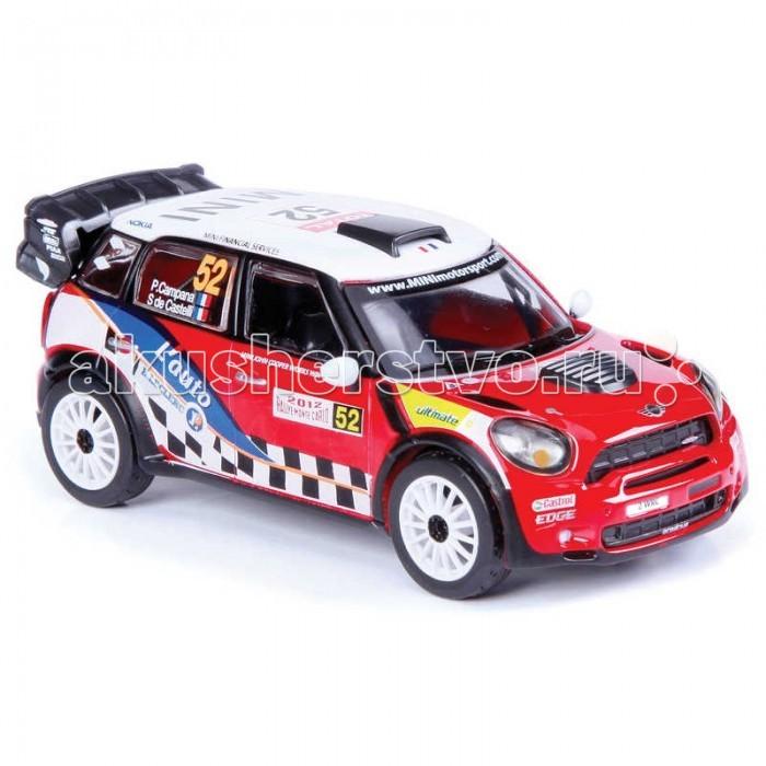 Bburago Машина Ралли WRC Mini Countryman WRC Команда №52Машина Ралли WRC Mini Countryman WRC Команда №52Машина Ралли Bburago WRC Mini Countryman WRC Команда №52 – это копия настоящего автомобиля с полной детализацией всех частей, 1:32  Игрушка выполнена из высококачественного металла и пластика. Детали и края аккуратно обработаны.   Коллекционные машинки Бураго развивают у ребенка развивают координацию движений и меткость, пространственное и образное мышление, воображение, мелкую моторику. С мини-модельками автомобилей Bburago игра станет настолько увлекательной, что оторваться будет невозможно!   Компания Bburago – мировой лидер в производстве коллекционных моделей автомобилей. Более 30 лет профессиональные дизайнеры Bburago разрабатывают точные копии современных машин и ретро машин известных марок. С автомобилями Bburago можно не только играть, но и сделать их частью своей коллекции!<br>