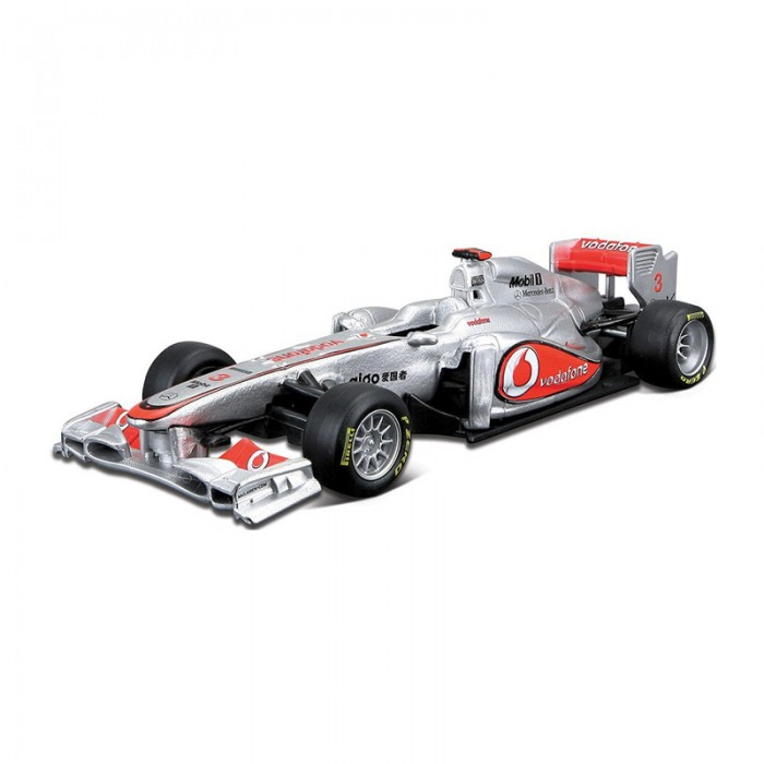 Bburago Машина Формула-1 Команда 2012 McLarenМашина Формула-1 Команда 2012 McLarenМашина Формула-1 Bburago Команда 2012 McLaren – это копия настоящего автомобиля с полной детализацией всех частей, 1:32  Игрушка выполнена из высококачественного металла и пластика. Детали и края аккуратно обработаны.   Коллекционные машинки Бураго развивают у ребенка развивают координацию движений и меткость, пространственное и образное мышление, воображение, мелкую моторику. С мини-модельками автомобилей Bburago игра станет настолько увлекательной, что оторваться будет невозможно!   Компания Bburago – мировой лидер в производстве коллекционных моделей автомобилей. Более 30 лет профессиональные дизайнеры Bburago разрабатывают точные копии современных машин и ретро машин известных марок. С автомобилями Bburago можно не только играть, но и сделать их частью своей коллекции!<br>