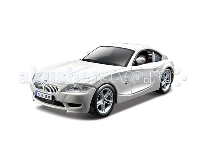 Bburago Машина BMW Z4 M CoupeМашина BMW Z4 M CoupeМашина Bburago BMW Z4 M Coupe – это копия настоящего автомобиля с полной детализацией всех частей, 1:32  Игрушка выполнена из высококачественного металла и пластика. Детали и края аккуратно обработаны.   Коллекционные машинки Бураго развивают у ребенка развивают координацию движений и меткость, пространственное и образное мышление, воображение, мелкую моторику. С мини-модельками автомобилей Bburago игра станет настолько увлекательной, что оторваться будет невозможно!   Компания Bburago – мировой лидер в производстве коллекционных моделей автомобилей. Более 30 лет профессиональные дизайнеры Bburago разрабатывают точные копии современных машин и ретро машин известных марок. С автомобилями Bburago можно не только играть, но и сделать их частью своей коллекции!<br>