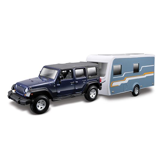 Bburago ������ Jeep Wrangler Unlimited Rubico