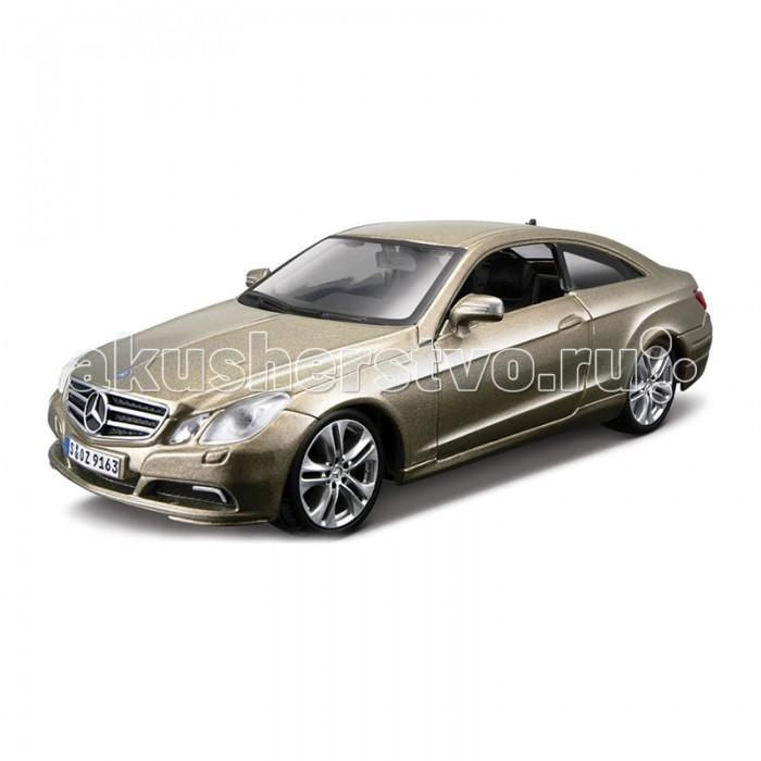 Bburago Машина Mercedes-Benz E-Class CoupeМашина Mercedes-Benz E-Class CoupeМашина Bburago Mercedes-Benz E-Class Coupe – это копия настоящего автомобиля с полной детализацией всех частей, 1:32  Игрушка выполнена из высококачественного металла и пластика. Детали и края аккуратно обработаны.   Коллекционные машинки Бураго развивают у ребенка развивают координацию движений и меткость, пространственное и образное мышление, воображение, мелкую моторику. С мини-модельками автомобилей Bburago игра станет настолько увлекательной, что оторваться будет невозможно!   Компания Bburago – мировой лидер в производстве коллекционных моделей автомобилей. Более 30 лет профессиональные дизайнеры Bburago разрабатывают точные копии современных машин и ретро машин известных марок. С автомобилями Bburago можно не только играть, но и сделать их частью своей коллекции!<br>