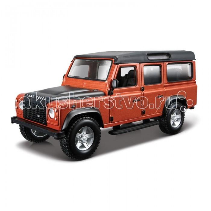 Bburago Машина Land Rover Defender 110Машина Land Rover Defender 110Машина Bburago Land Rover Defender 110 – это копия настоящего автомобиля с полной детализацией всех частей, 1:32  Игрушка выполнена из высококачественного металла и пластика. Детали и края аккуратно обработаны.   Коллекционные машинки Бураго развивают у ребенка развивают координацию движений и меткость, пространственное и образное мышление, воображение, мелкую моторику. С мини-модельками автомобилей Bburago игра станет настолько увлекательной, что оторваться будет невозможно!   Компания Bburago – мировой лидер в производстве коллекционных моделей автомобилей. Более 30 лет профессиональные дизайнеры Bburago разрабатывают точные копии современных машин и ретро машин известных марок. С автомобилями Bburago можно не только играть, но и сделать их частью своей коллекции!<br>
