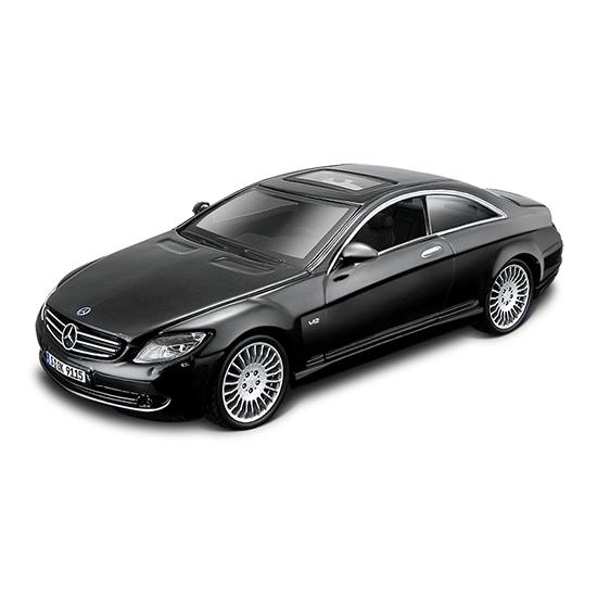 Bburago Машина Mercedes Benz CL-550Машина Mercedes Benz CL-550Машина Bburago Mercedes Benz CL-550 – это копия настоящего автомобиля с полной детализацией всех частей, 1:32  Игрушка выполнена из высококачественного металла и пластика. Детали и края аккуратно обработаны.   Коллекционные машинки Бураго развивают у ребенка развивают координацию движений и меткость, пространственное и образное мышление, воображение, мелкую моторику. С мини-модельками автомобилей Bburago игра станет настолько увлекательной, что оторваться будет невозможно!   Компания Bburago – мировой лидер в производстве коллекционных моделей автомобилей. Более 30 лет профессиональные дизайнеры Bburago разрабатывают точные копии современных машин и ретро машин известных марок. С автомобилями Bburago можно не только играть, но и сделать их частью своей коллекции!<br>