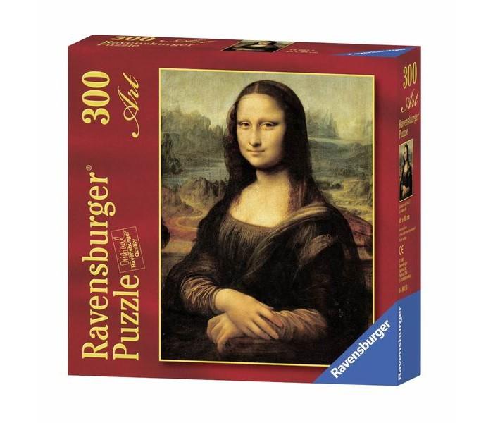 Пазлы Ravensburger Пазл Леонардо да Винчи. Мона Лиза 300 элементов