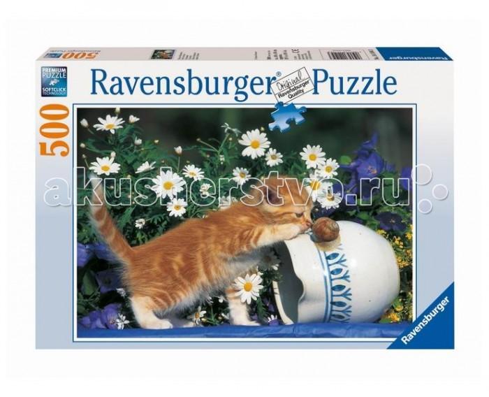 Ravensburger Пазл Любопытный котенок 500 элементов