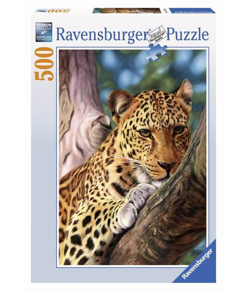 Ravensburger Пазл Леопард на дереве 500 элементов