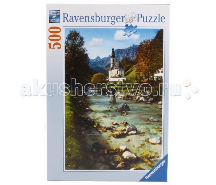 Пазлы Ravensburger Пазл Горная Бавария 500 элементов