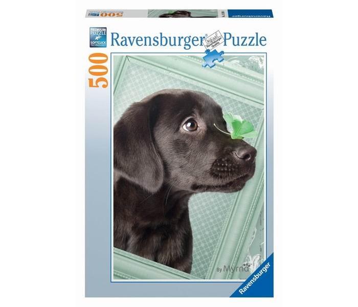 Пазлы Ravensburger Пазл Счастливый щенок 500 элементов