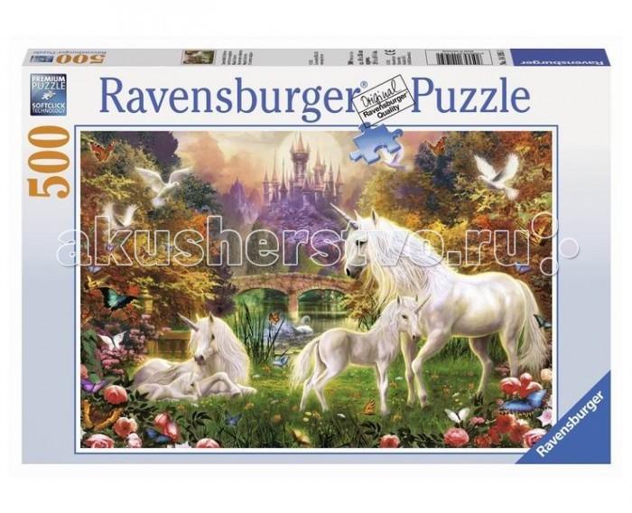 Пазлы Ravensburger Пазл Волшебные единороги 500 элементов