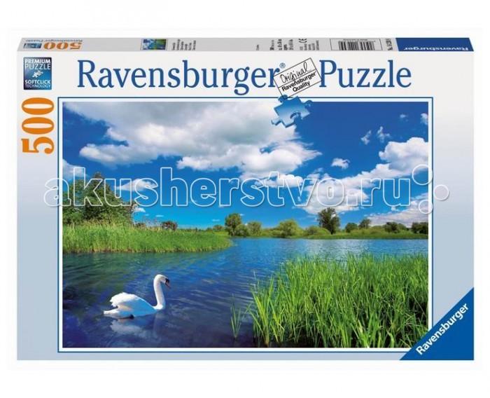 Ravensburger Пазл Лебедь на пруду 500 элементов