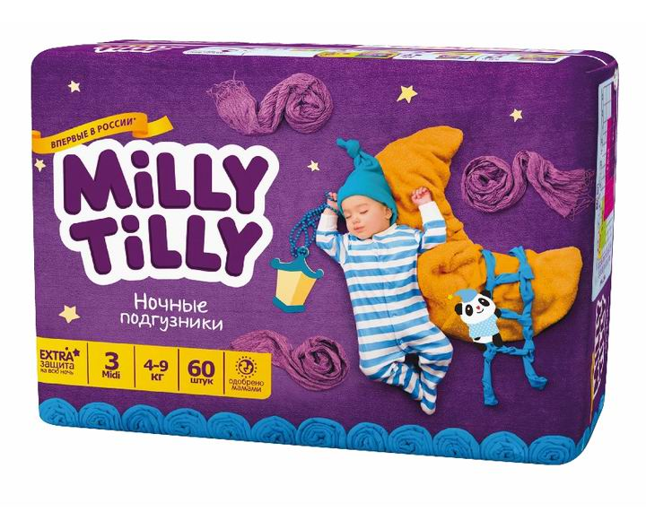 Milly Tilly ������ ���������� ���� 4-9 �� 60 ��.