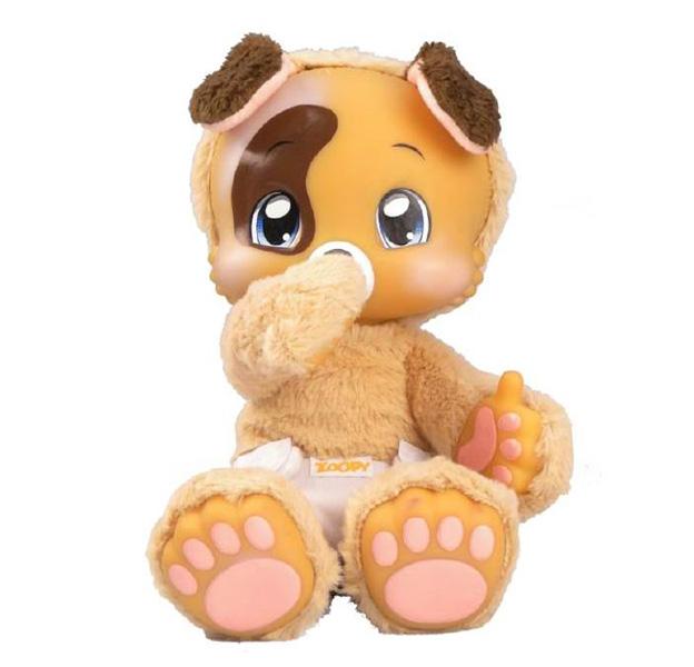 Интерактивные игрушки Zoopy Плюшевый Щенок со звуком