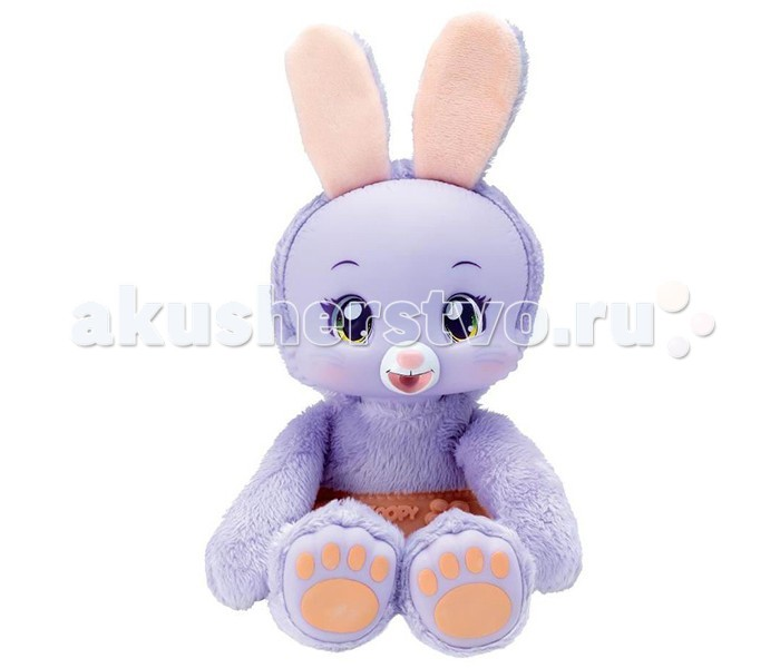 Интерактивные игрушки Zoopy Плюшевый Зайчик со звуком