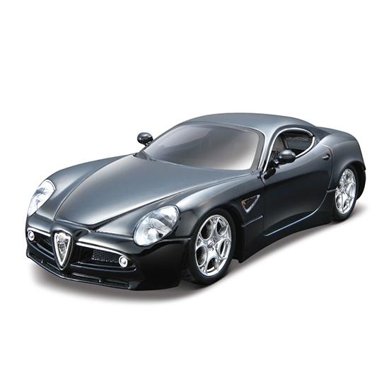 Bburago Машина для сборки Alfa Romeo 8C CompetizioneМашина для сборки Alfa Romeo 8C CompetizioneМашина для сборки Bburago Alfa Romeo 8C Competizione – это великолепная детальная копия шикарного одноименного автомобиля, представляет собой не только коллекционную автомодель, но и конструктор   Особенности:    Металлический корпус обеспечивает игрушке долговечность, он окрашен настоящей автомобильной краской и выглядит очень эффектно.  Машина выполнена в масштабе 1:32 к оригиналу.  В мини-копии можно повернуть руль, открыть двери, капот и багажник.  Ребенок сможет играть машинкой в гонки или собирать ее как конструктор.  Машина собирается несложно, детали легко и надежно крепятся между собой, образуя в результате прекрасный автомобиль.  С помощью этой машинки малыш научится усидчивости, ознакомиться с устройством автомобиля, а так же кроха будет стимулировать свою двигательную активность.    Игрушка выполнена из высококачественного металла и пластика. Детали и края аккуратно обработаны.   Коллекционные машинки Бураго развивают у ребенка развивают координацию движений и меткость, пространственное и образное мышление, воображение, мелкую моторику. С мини-модельками автомобилей Bburago игра станет настолько увлекательной, что оторваться будет невозможно!   Компания Bburago – мировой лидер в производстве коллекционных моделей автомобилей. Более 30 лет профессиональные дизайнеры Bburago разрабатывают точные копии современных машин и ретро машин известных марок. С автомобилями Bburago можно не только играть, но и сделать их частью своей коллекции!<br>