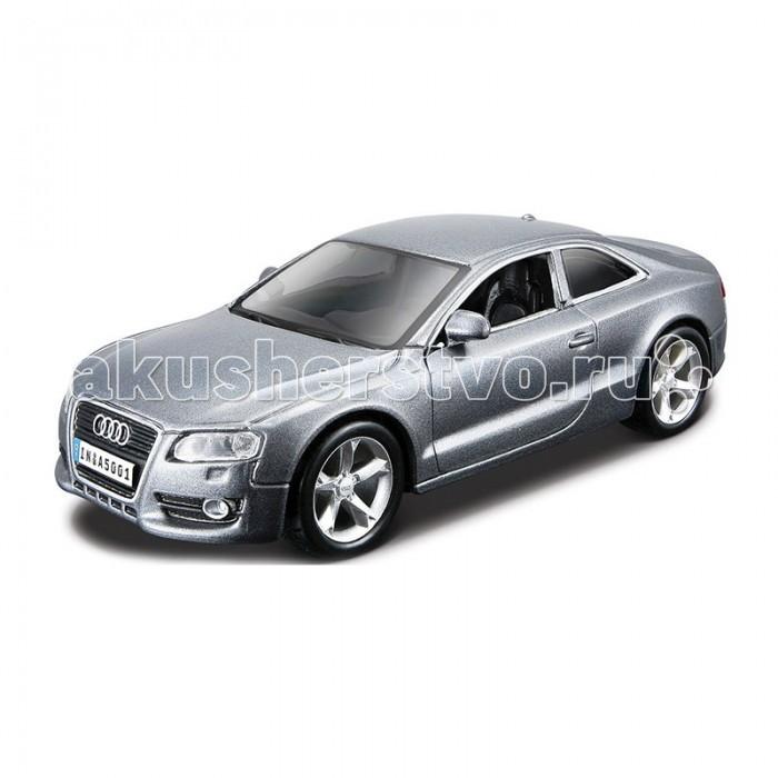 Bburago Машина для сборки Audi A5Машина для сборки Audi A5Машина для сборки Bburago Audi A5 – это великолепная детальная копия шикарного одноименного автомобиля, представляет собой не только коллекционную автомодель, но и конструктор   Особенности:    Металлический корпус обеспечивает игрушке долговечность, он окрашен настоящей автомобильной краской и выглядит очень эффектно.  Машина выполнена в масштабе 1:32 к оригиналу.  В мини-копии можно повернуть руль, открыть двери, капот и багажник.  Ребенок сможет играть машинкой в гонки или собирать ее как конструктор.  Машина собирается несложно, детали легко и надежно крепятся между собой, образуя в результате прекрасный автомобиль.  С помощью этой машинки малыш научится усидчивости, ознакомиться с устройством автомобиля, а так же кроха будет стимулировать свою двигательную активность.    Игрушка выполнена из высококачественного металла и пластика. Детали и края аккуратно обработаны.   Коллекционные машинки Бураго развивают у ребенка развивают координацию движений и меткость, пространственное и образное мышление, воображение, мелкую моторику. С мини-модельками автомобилей Bburago игра станет настолько увлекательной, что оторваться будет невозможно!   Компания Bburago – мировой лидер в производстве коллекционных моделей автомобилей. Более 30 лет профессиональные дизайнеры Bburago разрабатывают точные копии современных машин и ретро машин известных марок. С автомобилями Bburago можно не только играть, но и сделать их частью своей коллекции!<br>