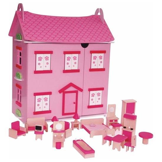 Кукольные домики Craft Бавария с мебелью и куклами