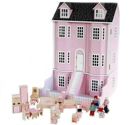 Кукольные домики Craft Версаль с мебелью и куклами