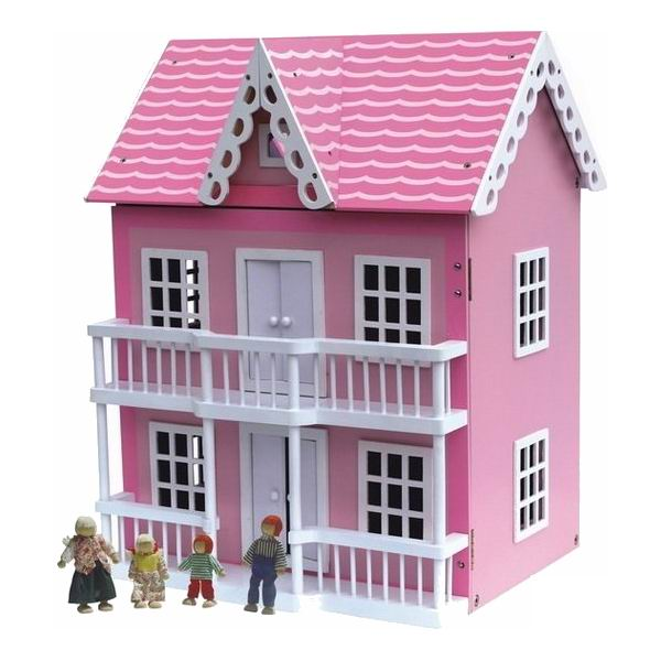 Кукольные домики Craft Каролина с мебелью и куклами