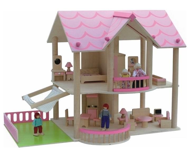 Кукольные домики Craft Коста-Бланка с мебелью и куклами