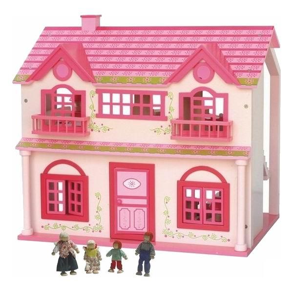 Кукольные домики Craft Куршавель с мебелью и куклами