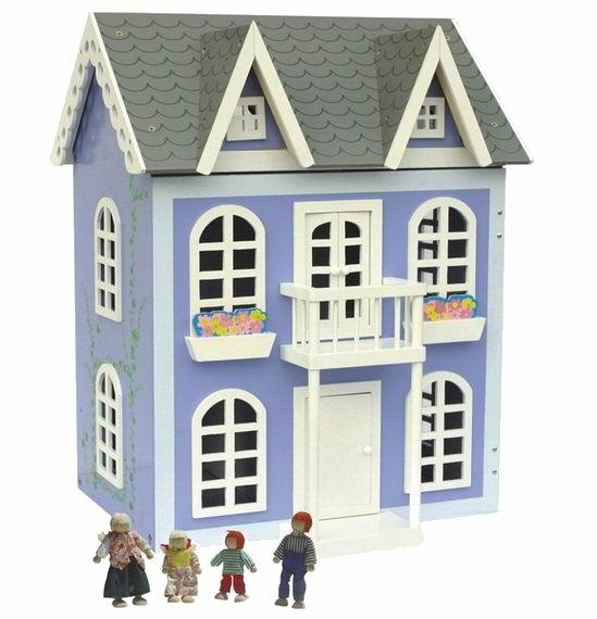 Кукольные домики Craft Прованс с мебелью и куклами