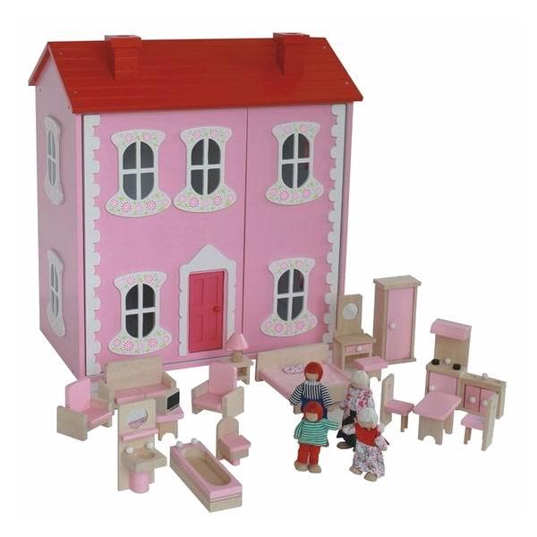 Кукольные домики Craft Сан-Марино с мебелью и куклами