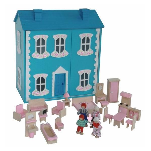 Кукольные домики Craft Сан-Ремо с мебелью и куклами