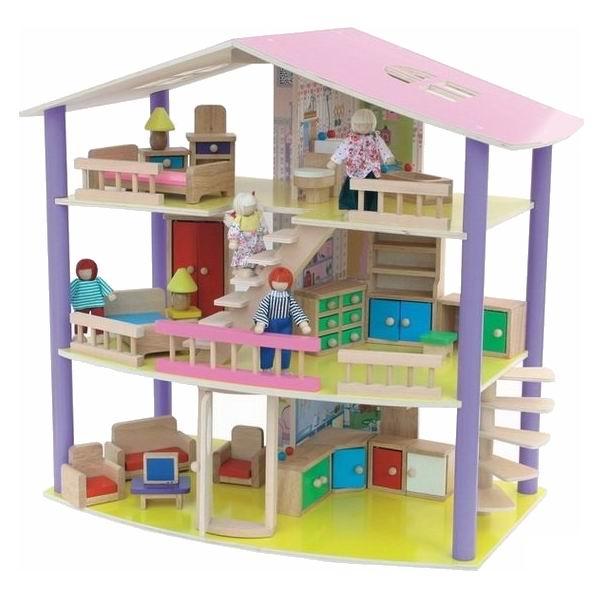 Кукольные домики Craft Санта-Барбара с мебелью и куклами