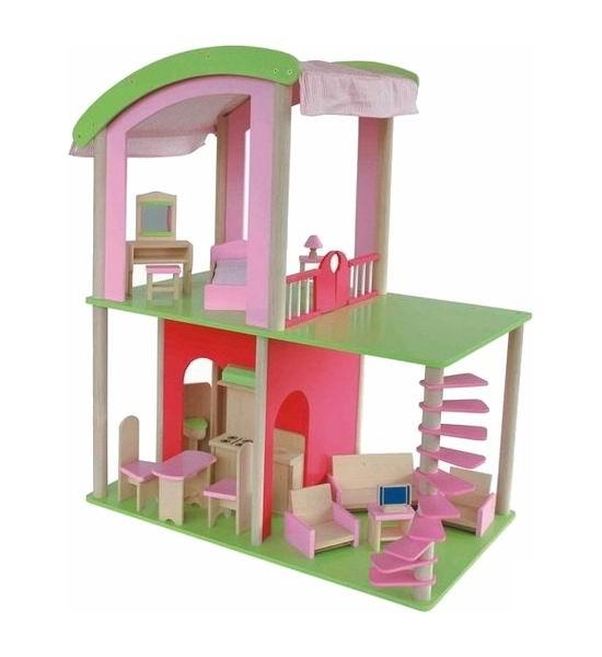 Кукольные домики Craft Флоренция с мебелью и куклами