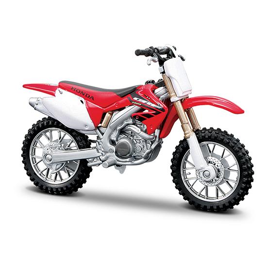 Машины Bburago Мотоцикл Honda CRF450R