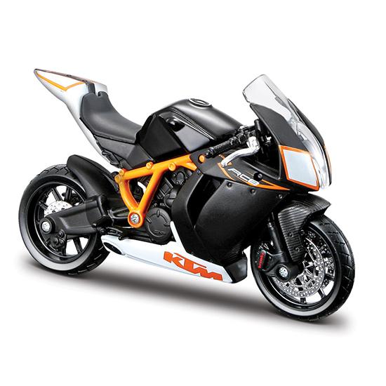 Bburago Мотоцикл KMT 1190 RC8 RМотоцикл KMT 1190 RC8 RМотоцикл Bburago KMT 1190 RC8 R – это копия настоящего мотоцикла с полной детализацией всех частей, 1:18  Игрушка выполнена из высококачественного металла и пластика. Детали и края аккуратно обработаны.<br>