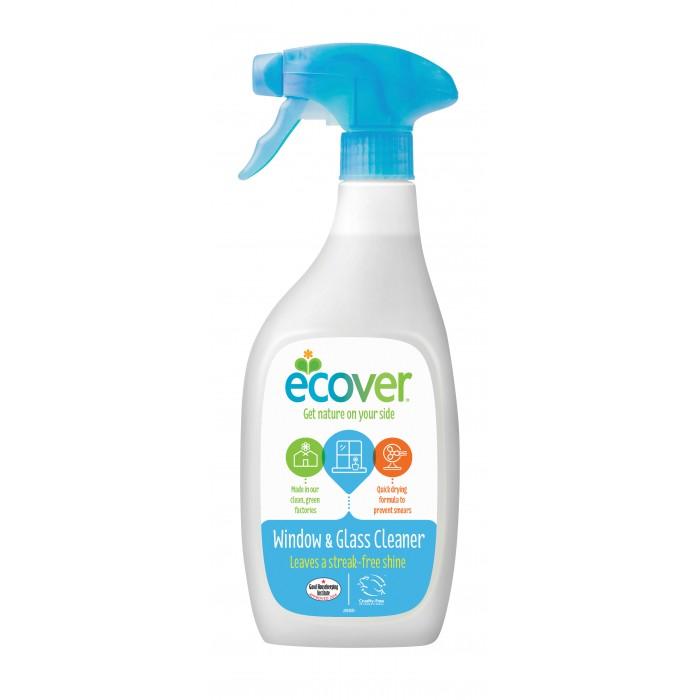 Ecover Экологический спрей для чистки окон и стеклянных поверхностей 500 млЭкологический спрей для чистки окон и стеклянных поверхностей 500 млЭкологический спрей для чистки окон и стеклянных поверхностей! Подходит для стекл, зеркал, поверхностей из хрома, винила, акрила, плитки.   Отлично справляется с загрязнениями, не оставляет разводов! Придает блеск! Не содержит нефтепродуктов. Создан на минеральной и растительной основе. Биоразланаем, не наносит ущерб окружающей среде!  Состав: >30% вода; 5-15%: спирт на растительной основе, 5%: неионные эко-ПАВы, лимонная кислота, натуральный ароматизорат (содержит лимонен).  Способ применения: Распылить небольшое количество спрея на загрязненную поверхность, а затем протереть сухой тряпочкой или бумажным полотенцем. Нет необходимости смывать.  Упаковка: 500 мл<br>