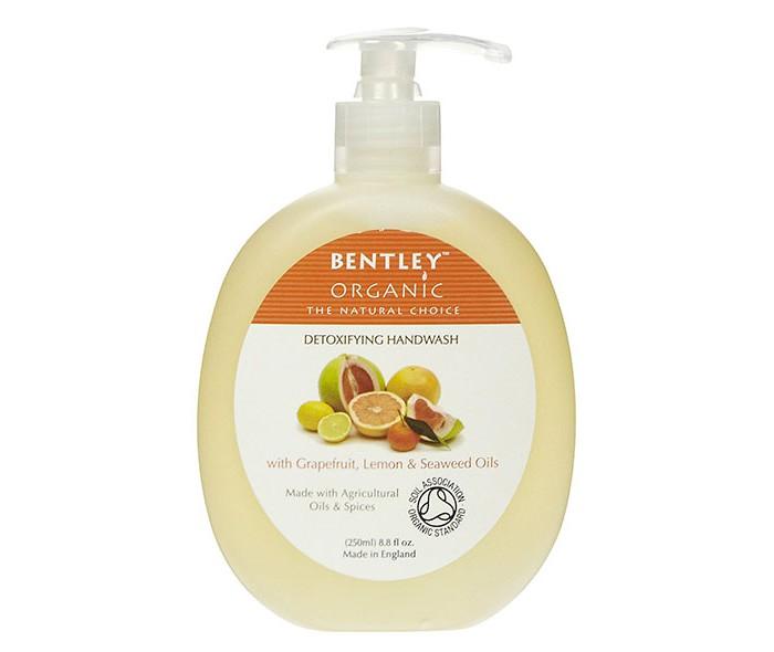 Bentley Organic Жидкое мыло Детокс с грейпфрутом, лимоном и водорослями 250 мл