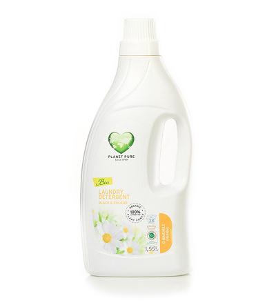 Моющие средства Planet Pure Органическое жидкое средство для стирки черных и цветных тканей 1.55 л