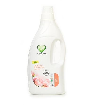 Моющие средства Planet Pure Органическое жидкое средство для стирки шерсти и шелка 1.55 л