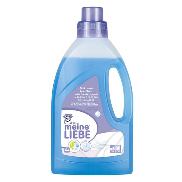 Моющие средства Meine Liebe Гель для стирки светлых, белых тканей концентрат Зимний сад 800 мл