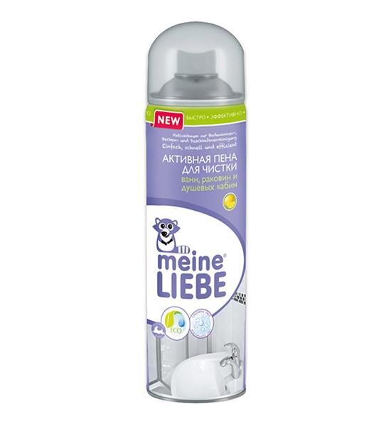 Моющие средства Meine Liebe Активная пена для чистки ванн раковин и душевых кабин 500 мл