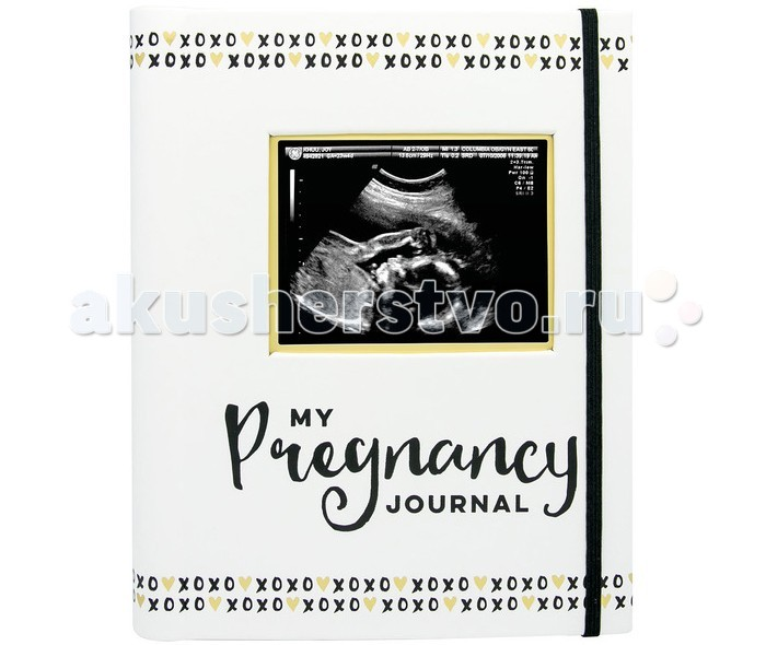 Фотоальбомы и рамки Pearhead Альбом Журнал беременности