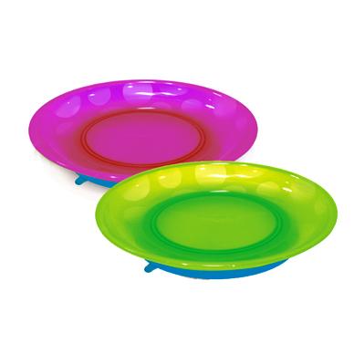 Посуда Munchkin Набор детских тарелок на присосках 2 шт.