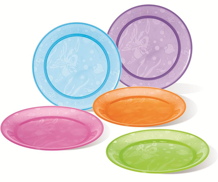 Munchkin Набор детских тарелок 5 шт.