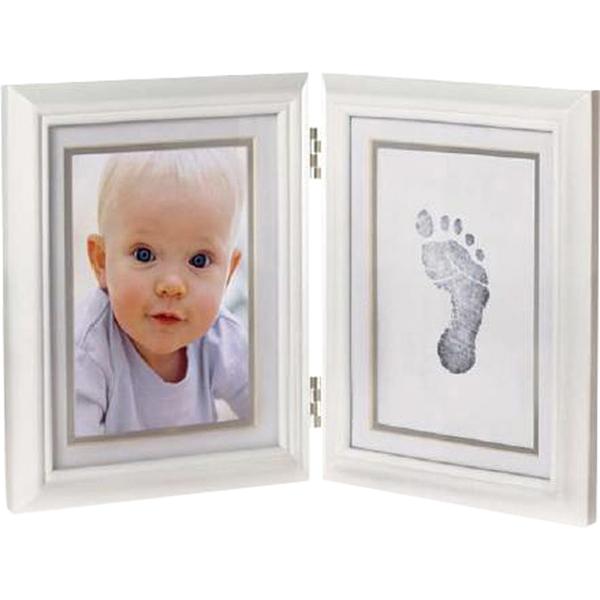 Фотоальбомы и рамки Pearhead Рамочка двойная складная с отпечатком
