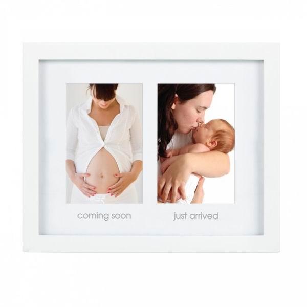 Pearhead Рамочка два окошка Как я росРамочка два окошка Как я росБеременность и рождение малыша - самое необычное и волнительное время в жизни женщины, память о котором хочется сохранить на всю жизнь. Запечатлейте мимолетные мгновения жизни Вашего ребенка с помощью необычной двойной фоторамки: размещенные рядом 2 изображения Вашей беременности и новорожденного ребенка на долгие годы сохранят в семье память о самых счастливых минутах жизни.  Такая рамка прекрасно впишется в домашний интерьер и долгие годы будет напоминать всей семье о самых значимых моментах Вашего крохи.   Состав комплекта: деревянная рамка  Компания Pearhead создает неповторимые подарочные наборы и товары для детей и домашних питомцев с 1999 года. Оригинальная продукция отличается простотой и функциональностью дизайна, при этом передает невероятную чувственную красоту домашнего декора. Pearhead - это бережное отношение к традициям и уважение к семейным ценностям в сочетании с яркими инновационными идеями.<br>