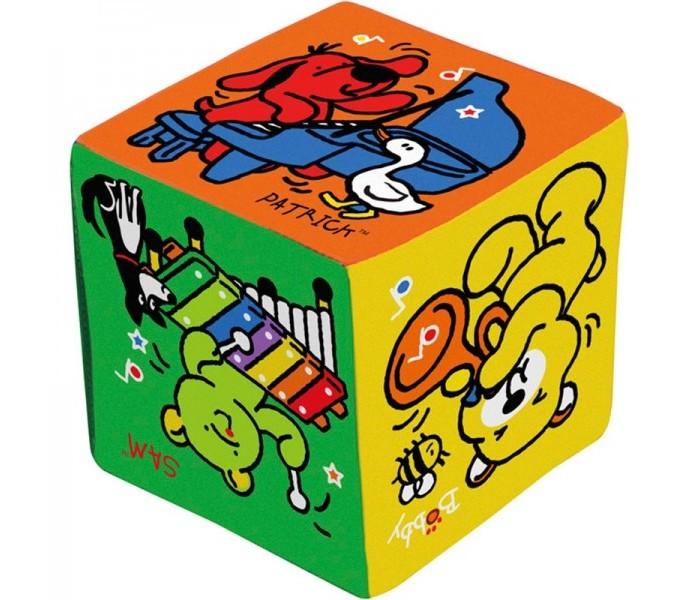 Развивающая игрушка KS Kids Музыкальный кубикМузыкальный кубикМузыкальный кубик с героями Ks Kids имеет 3 режима:  1. Слушаем музыку - достаточно подкинуть кубик и какой инструмент выпадет картинкой к нам, тот инструмент и будем слушать.   2. Изучаем ритм - подкидываем кубик и с тем инструментом который выпал слушаем не только музыку, но и хлопаем под задаваемый ритм.   3. Поём - снова подкидываем и поём вместе с героем изучая звуки.   Размер 12х12х12 см   Материал: ткань(65% полиэстер, 35% хлопок), электронные компоненты.<br>
