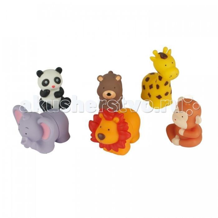 K'S Kids Игрушки для купания Popbo Blocs Дикие животные
