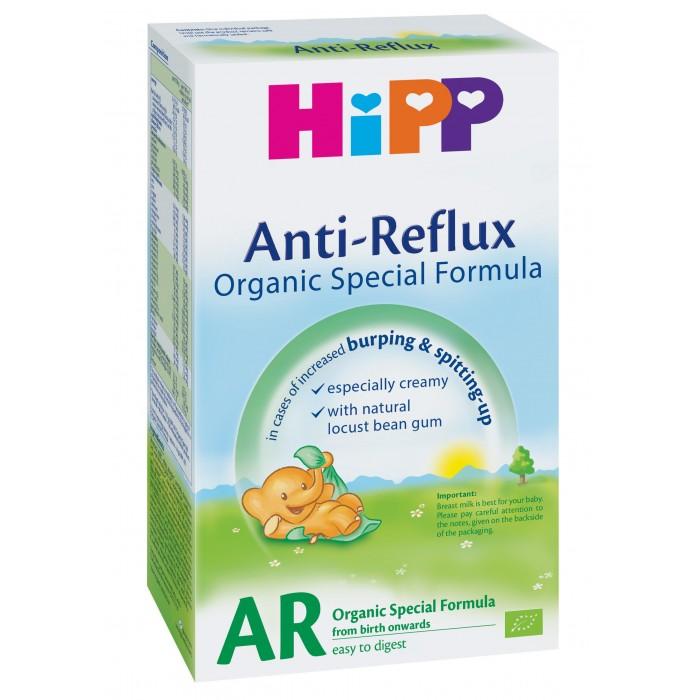 Hipp Молочная смесь Антирефлюкс от 0 мес. 300 гМолочная смесь Антирефлюкс от 0 мес. 300 гСпециальная антирефлюксная сухая адаптированная молочная смесь – предназначена для кормления младенцев, начиная с первых дней. Смесь содержит все питательные вещества; пробиотики грудного молока – живые лактобактерии, которые формируют нормальную микрофлору кишечника ребенка.  Необходима консультация специалистов. Молочная смесь предназначена для питания детей с рождения.<br>