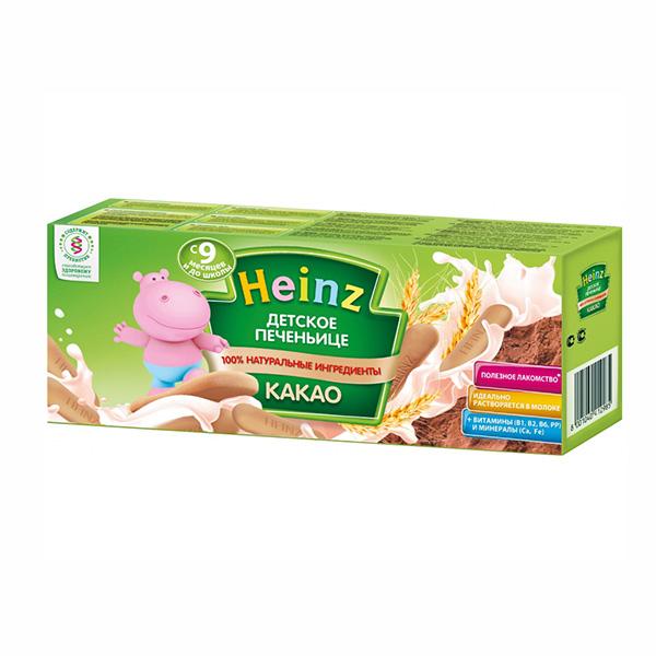 Печенье Heinz Печенье для детей какао с 9 мес. 160 гр